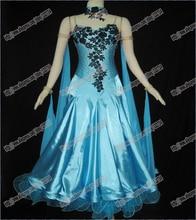 Modern Waltz Tango Ballroom Dance Dress, Smooth Ballroom Dress,Standard Ballroom Dress Girls B-0341