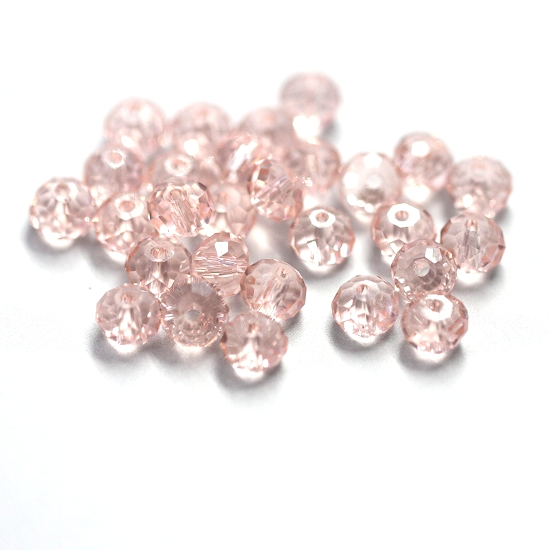 wholesale 4-8mm silk faceted glass round beads Rondelle Austria crystal  beads for bracelet necklace making DIY Jewelry findings e7cafe578ab0