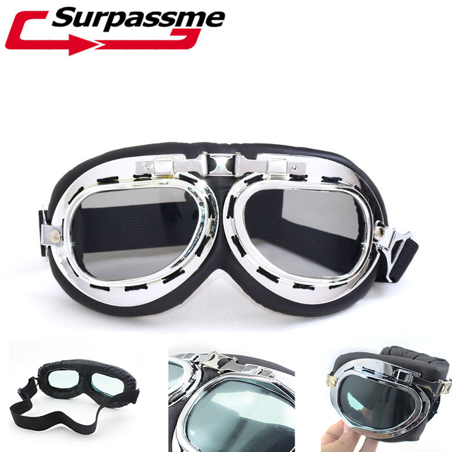 24013ca9fb21 High Quality Protective Gear Glasses For Motorcycle Helmet Motocross Ski  goggles and Sunglass Dirt Bike Glass Motocross