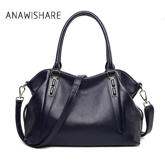 Aliexpress.com : Buy ANAWISHARE Genuine Leather Handbags Women ...
