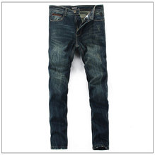 New Arrival Men Jeans Famous Brand High Quality Jeans For Men Cotton Stretch Straight Denim Motorcycle