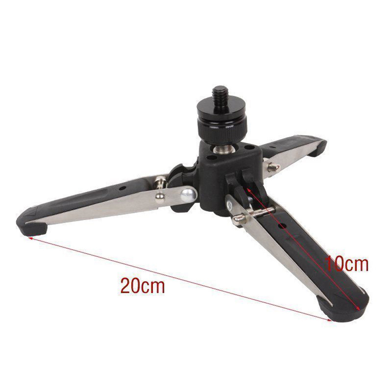 Live Equipment Hospitable Universal Video Monopod Stand Base Monopod Tripod Mini Three Feet Support For Dslr Monopod With 3/8 Screw Curing Cough And Facilitating Expectoration And Relieving Hoarseness Consumer Electronics