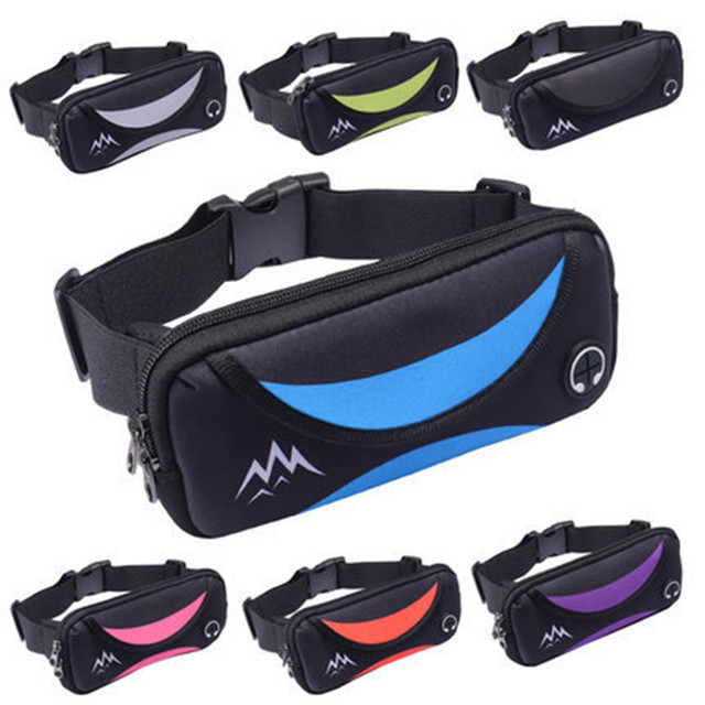 9cd9ef13fd US $6.21 49% OFF|women's waist bag Hip Bag Women's Waistband Banana Bags  Unisex Waist Pack for Men Fanny Pack Women Money Belt Mobile Phone Bag-in  ...