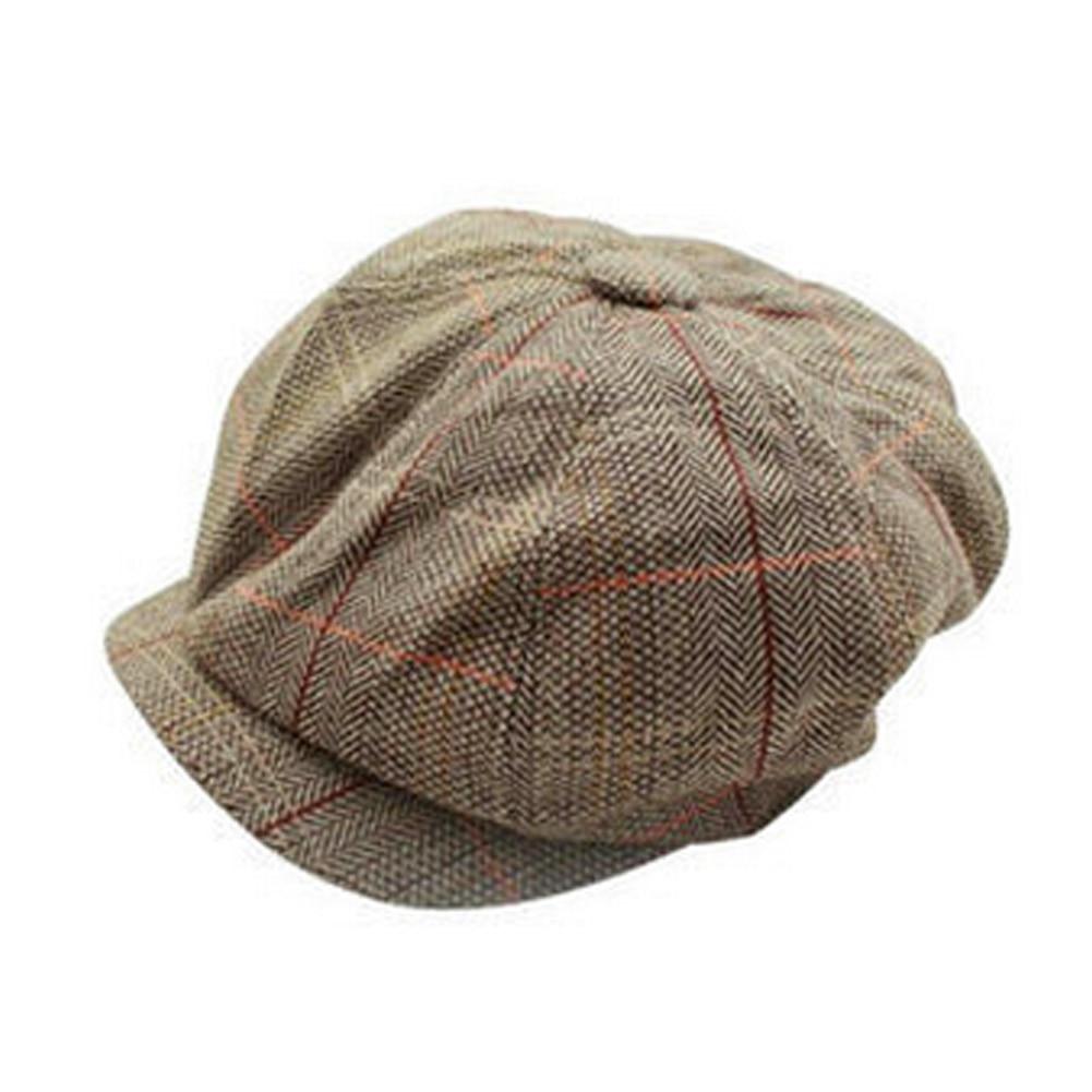 Men Women Newsboy Hat Driving Flat Gatsby Tweed Sun Hat Country Beret Baker  Cap painter caps octagonal 2017 fashion new B1 36d44b7d948b
