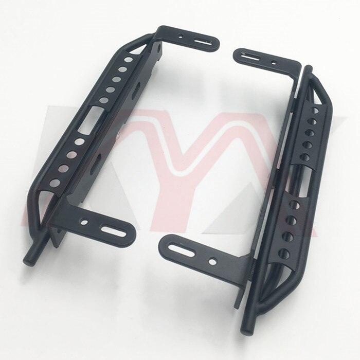 KYX Pedal metal foot pedal side step 1 pair for Traxxas TRX 4 TRX4