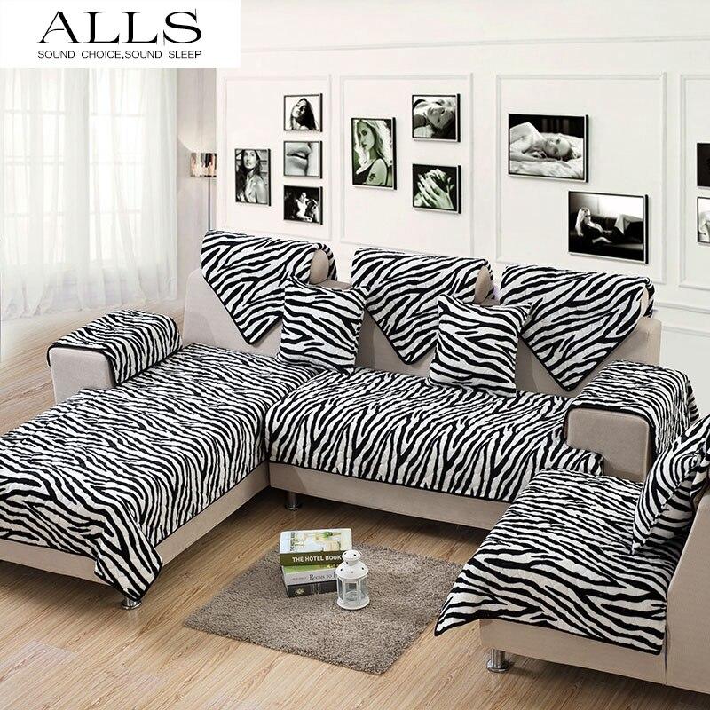 Black And White Sofa Slipcovers
