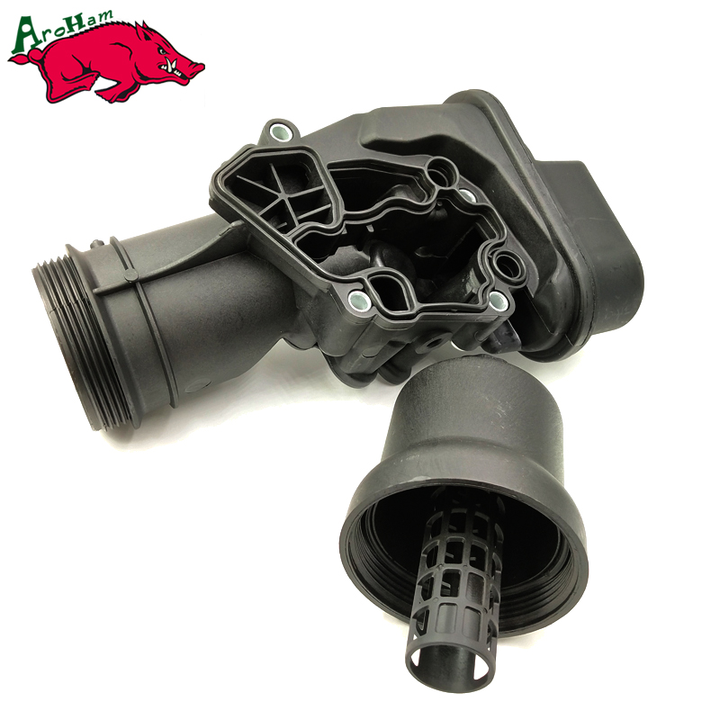 Harbll 06F115397H Oil Filter Housing Assembly For Volkswagen VW Golf Eos GTI Audi A3 TT Quattro & A4 & A4 Quattro 2.0L seintex 84027 для audi a 3 2012 volkswagen golf vii
