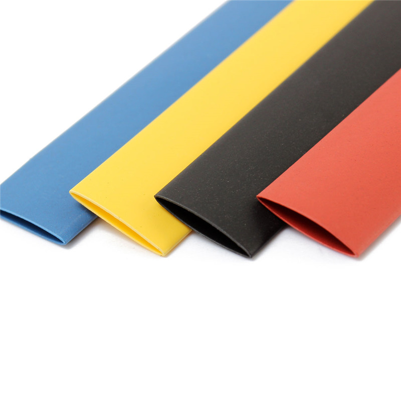 328Pcs 8 Sizes Multi Color Polyolefin 2:1 Halogen-Free Heat Shrink Tubing Tube Assortment Sleeving Wrap Tubes