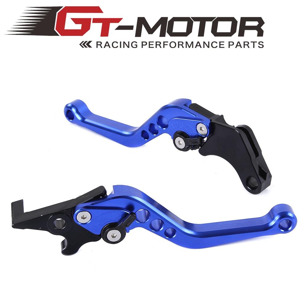 GT мотор - мотоцикл с ЧПУ алюминиевый коротышка регулируемые тормозные рычаги сцепления для Honda гром MSX125 2013 - 2015
