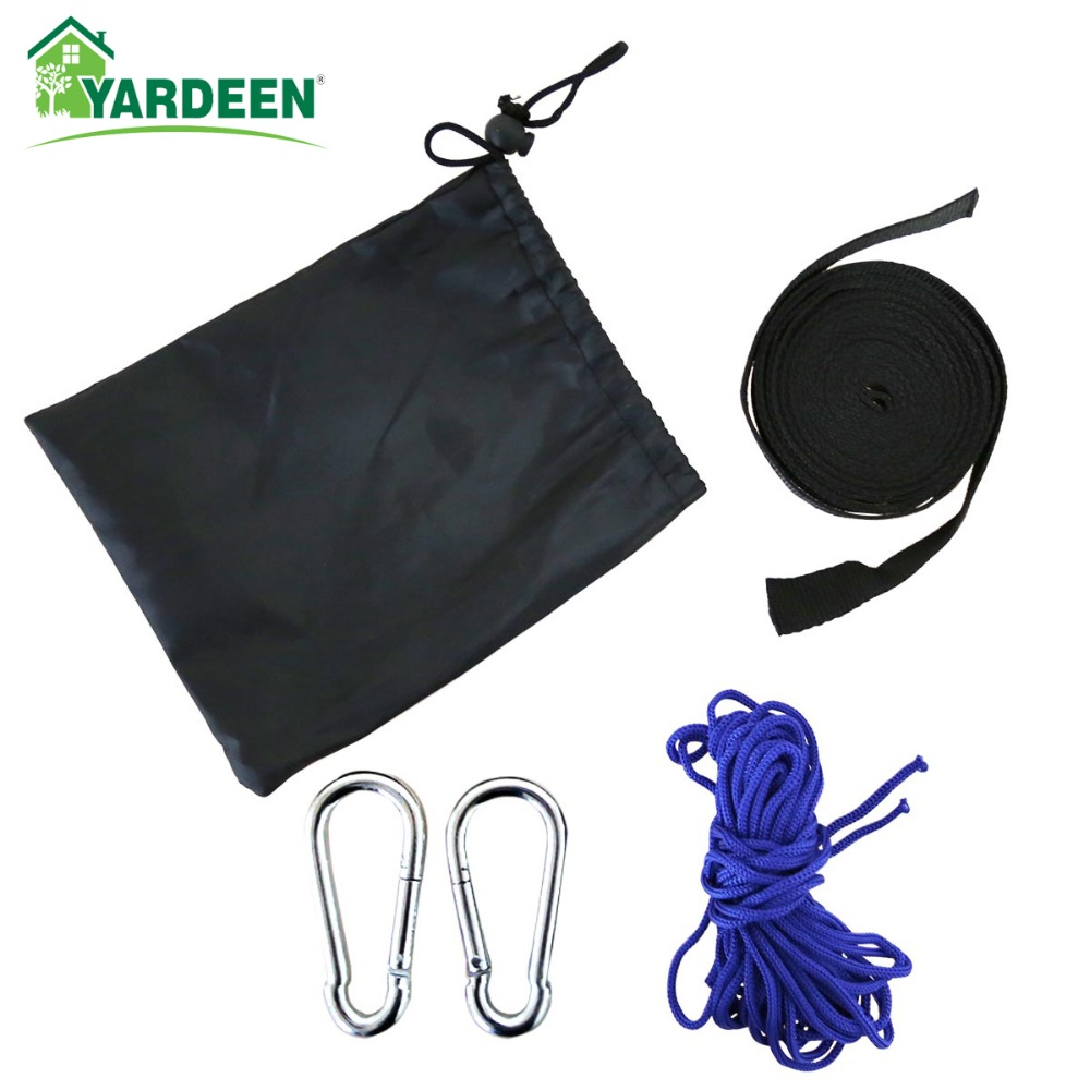 Hammock Accessories For Portable Parachute Anti-mosquito Use Strong Stainless Steel Buckle Including Accessories Bags