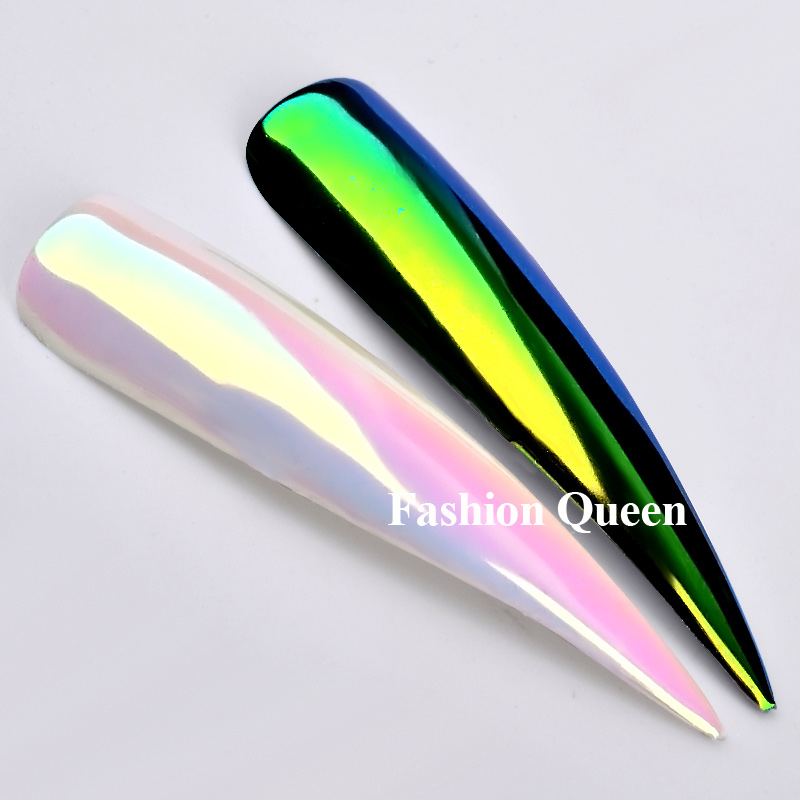 Top Neon Glitter Unicorn Καθρέφτης Νυχιών 0.2g - Τέχνη νυχιών - Φωτογραφία 3