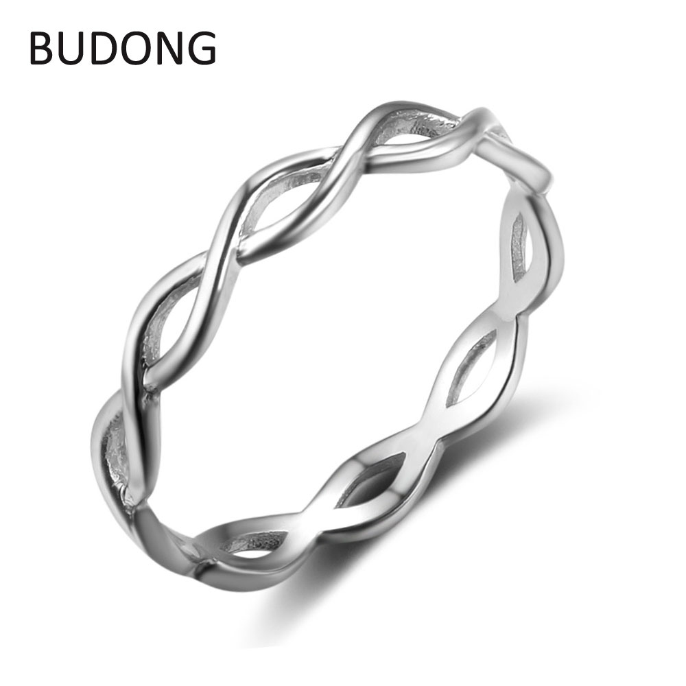 love women endless stainless rings band s steel jewelrywe men engagement pin promise couples wedding