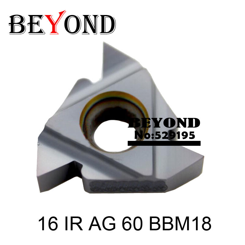 16 IR AG 60 BBM18 ، Carbide Threading Threading 60 درجه - ماشین ابزار و لوازم جانبی