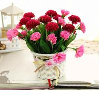 High Simulation Flower Suit Flower Pot Wedding Decorate Party Decpration Vase Furniture Silk Artificial Flower Floral