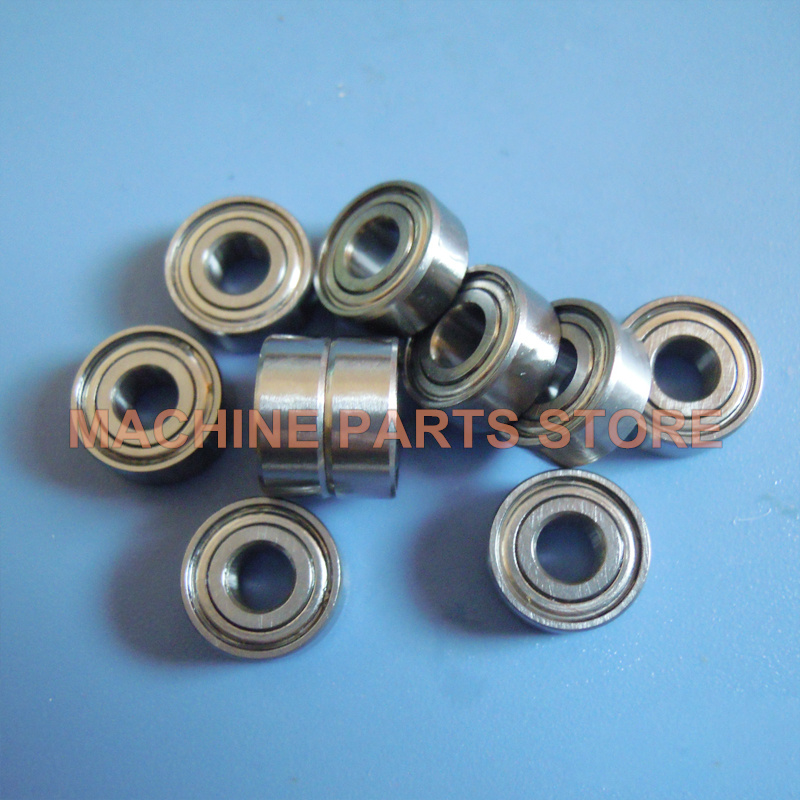 Metric Metal FLANGE Ball Bearing 10*15*4 F6700z 25pcs F6700zz 10x15x4mm