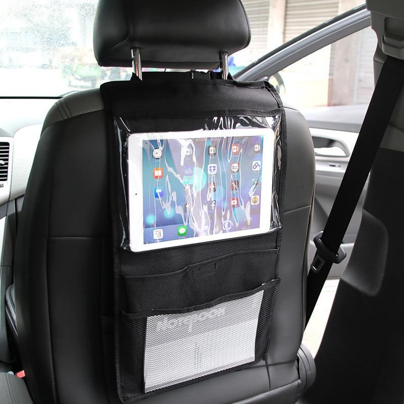 Multifunction Oxford Car Back Seat Hanging Bag Holder Hook Car Storage For Children Toys Pocket Organizer Sundries Storage Bag