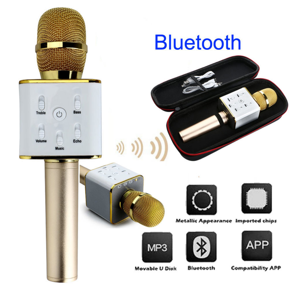 Video Games Musical Instruments Portable Bluetooth Karaoke