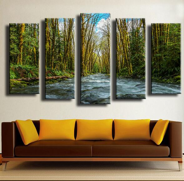 Forest Wall Art popular tranquil wall art-buy cheap tranquil wall art lots from