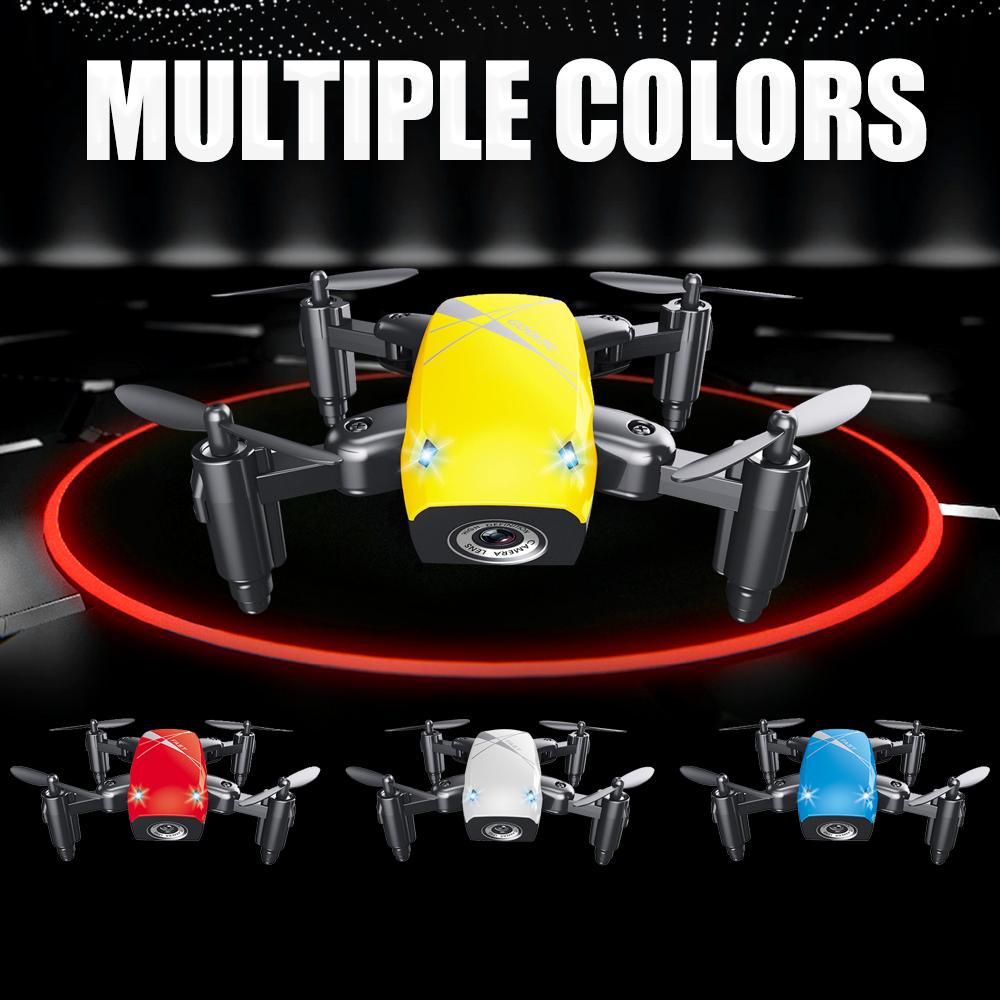 S9W Mini Drone with Camera S9 No Camera RC Airplanes Foldable Drones Altitude Hold Drone WiFi FPV Pocket Toy 22