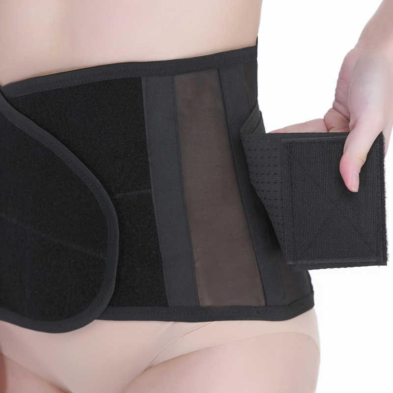 Для мужчин и Для женщин поясничного Поддержка Спорт Талия Тренер пояса неопрен спортивный корсет пояс для фитнеса HB34