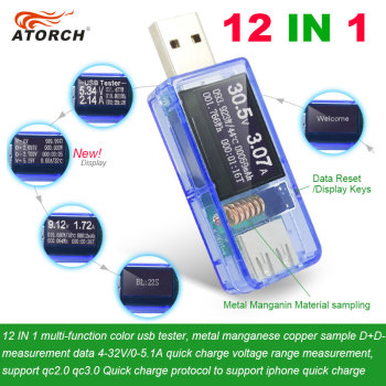 12 in 1 USB Power Bank Tester