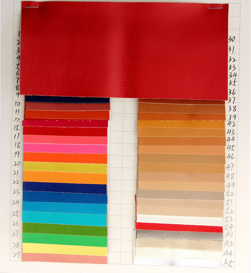 100% quality white faux leather many colors colourful ...
