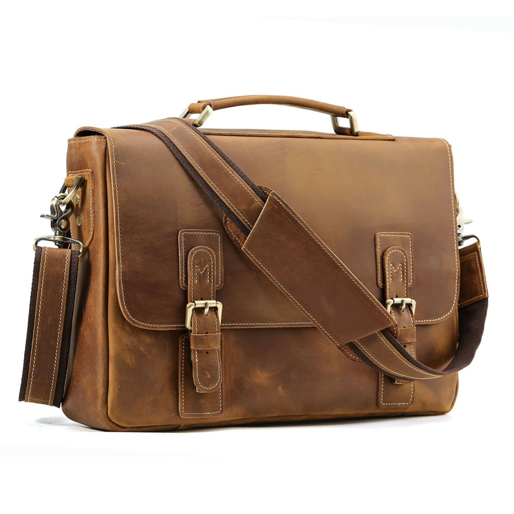 """TIDING Briefcases Men Messenger Bag 14 """" Laptop Style"""
