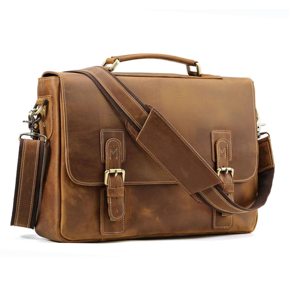 TIDING Briefcases Men Messenger Bag 14