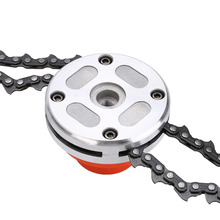 Mayitr 65Mn Coil Power Grass Trimmer Head Steel Chain Saw Links Easy Cutting for Brush Cutter Garden  Lawn Mower Tools Parts цена 2017