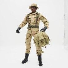 1/6 Scale Uniforms Accessories Female Clothes Desert Camo Soldier set For 12
