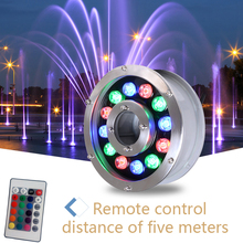 Led fountain light 6w 9w 12w 18w Led Pool Light Free AC12V AC24V Underwater Lights Fountains Waterproof Ip68