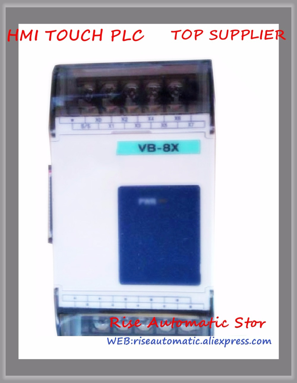 VB-8X PLC New Original 24VDC 8 point input Expansion Module plc srt2 od04