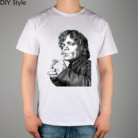 GOT GAME OF THRONES THE IMP Tyrion Lannister GAME OF THRONES T Shirt Top Lycra Cotton