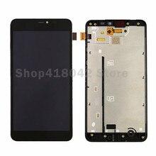 Pour Nokia Pour Microsoft Lumia 640 XL LCD Diaplay + Écran Tactile Digitizer Assemblée Avec Cadre Noir Livraison Gratuite