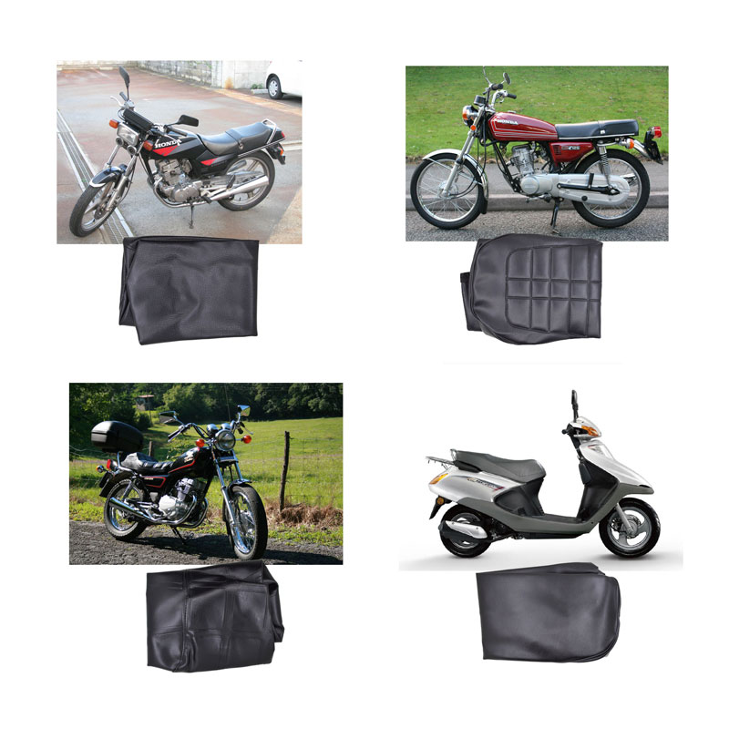 2088 Motorcycle Seat Cover For Honda CBT125 CG125 CM125 JH70 WH100 WH125 Motorbike Scooter Seat Cover old school motorcycle gauges