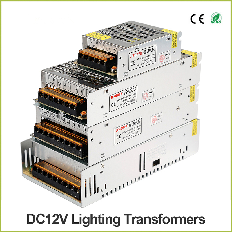 <font><b>DC</b></font> 5V 12V 24V 36V LED Strip Module Power Supply TO <font><b>AC</b></font> 110V-220V 1A 2A <font><b>3A</b></font> 4A 5A 6A 8A 10A 15A 20A 30A 40A 50A 60A Transformer image