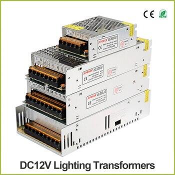 DC 5V 12V 24V 36V LED Strip Module Power Supply TO AC 110V-220V 1A 2A 3A 4A 5A 6A 8A 10A 15A 20A 30A 40A 50A 60A Transformer ac 110v 220v to dc 5v 12v 24v 1a 2a 3a 5a 10a 15a 20a 30a 50a switch power supply driver adapter led strip light