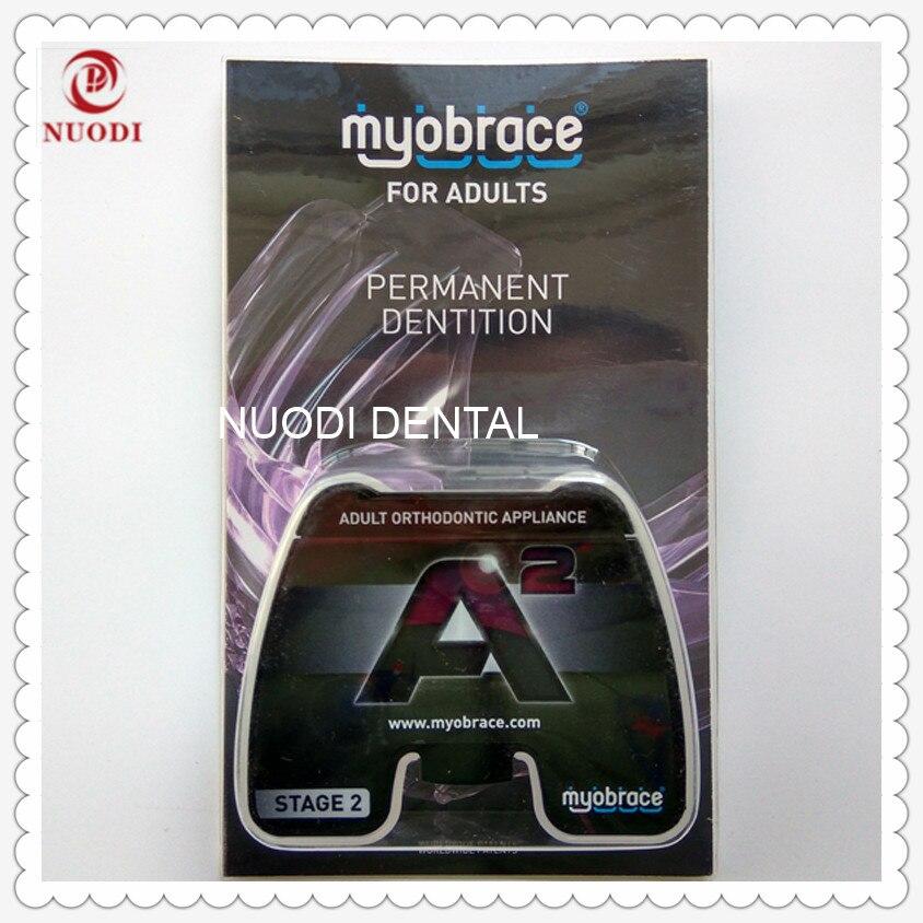 MRC Стоматологическая Ортодонтического зубной тренажер A2/myobrace для взрослых A2 трейнер для зубов/взрослых Ортодонтическая техника Brace A2