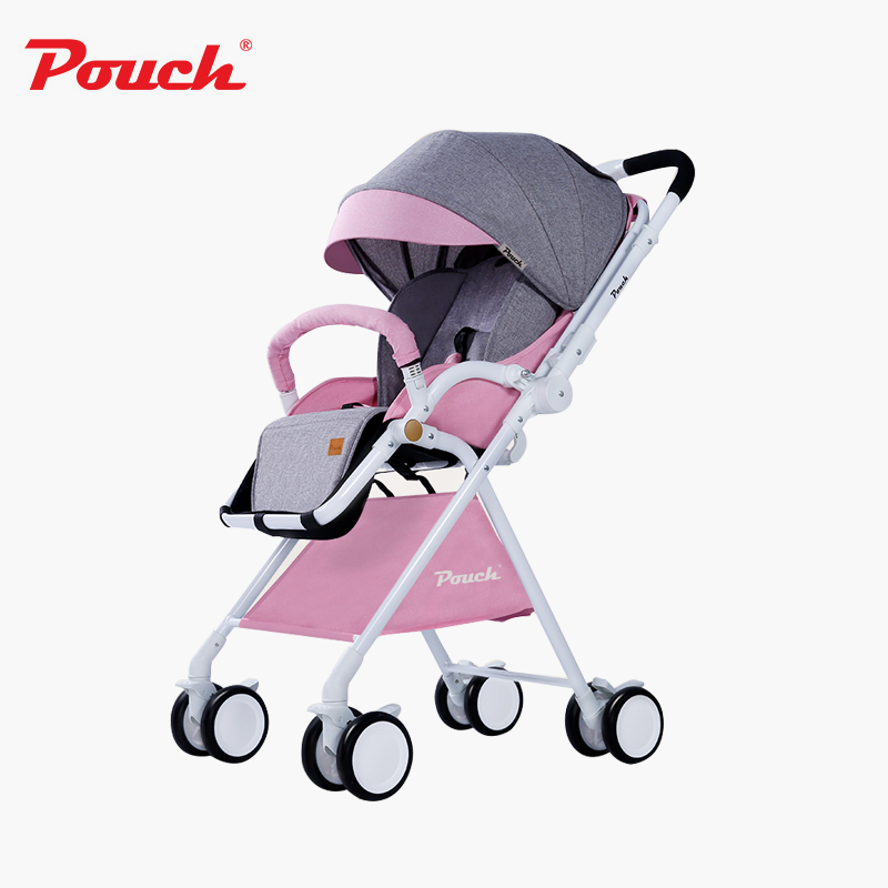 2017 High Landscape Baby Stroller Ultra Light Folding Two-Way push Baby Stroller for dolls belecoo 3 in 1 stroller high landscape with car set folding two way push baby carriage