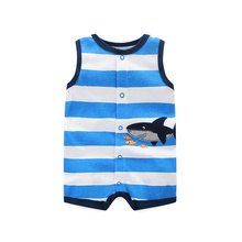 Clearance Sale 2020 Summer Baby Rompers Baby Girl Clothing Sets Sleeveness Baby Boy Clothes 2020 Cartoon Infant Baby Jumpsuits