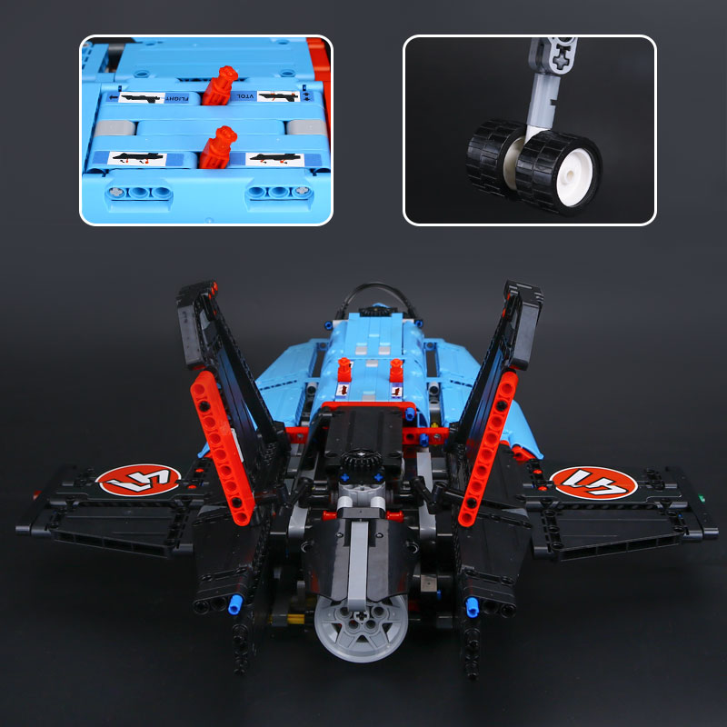 IN STOCK Lepin 20031 1151PCS Technic Series Mechanical Group Air Race Jet Building Blocks Bricks Small piece block Toy boys gift