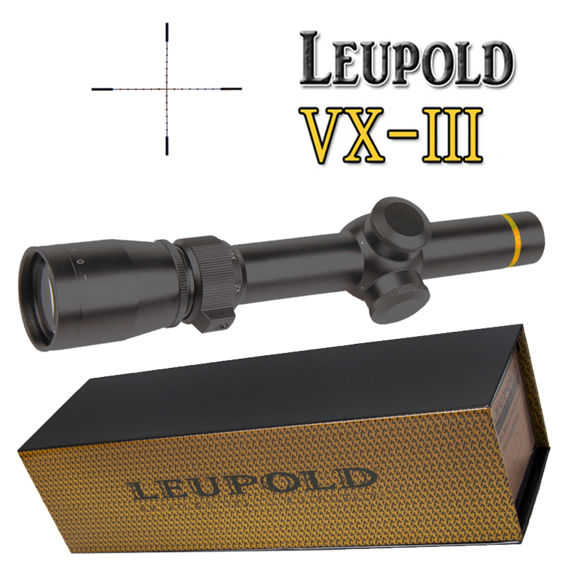 LEUPOLD 1.5-5X20 Riflescopes HuntingScope w/ Mounts High Quality Free Shipping цена 2017
