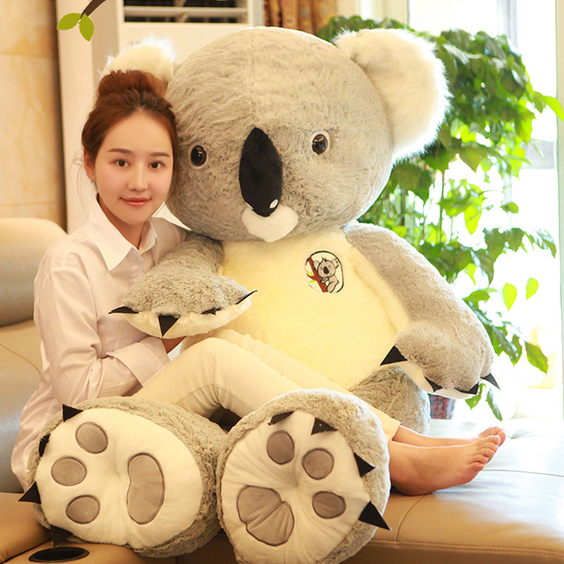 140cm Koala Plush Toys Koala Stuffed Doll Super Cute Animal Koala