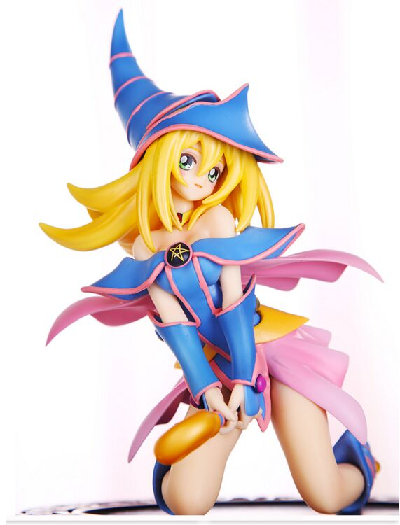 ANIME Duel Monsters model Dark Magician Girl action figure toy doll for gifts brinquedo