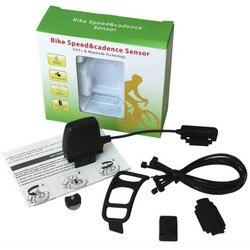 ANT + Bluetooth 4.0 wodoodporny bezprzewodowy czujnik prędkości kadencji dla rowerów prędkościomierz komputer dla iPhone Samsung inteligentny telefon