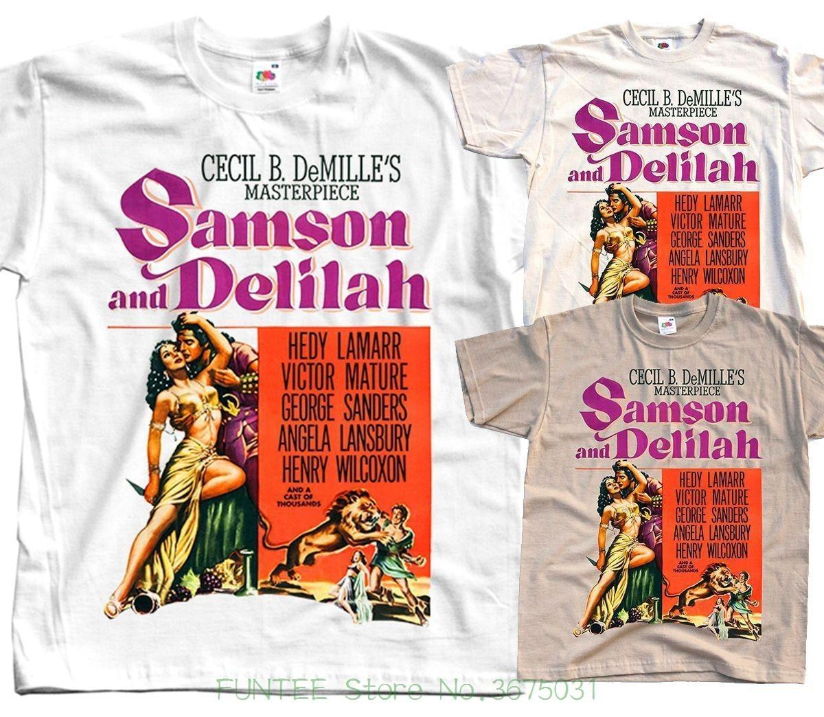 Samson /& Delilah Hedy Lamarr cult movie poster print