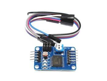 Free shipping 10pcs/lot PCF8591 module AD/DA converter analog to digital / digital-analog converter module Connector