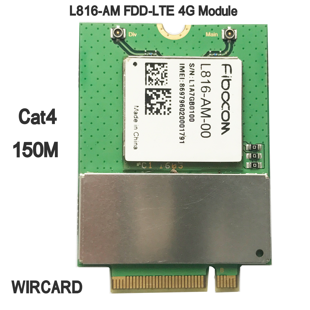 L816-AM LTE 4G Card Cat4 FDD-LTE 4G Module(China)