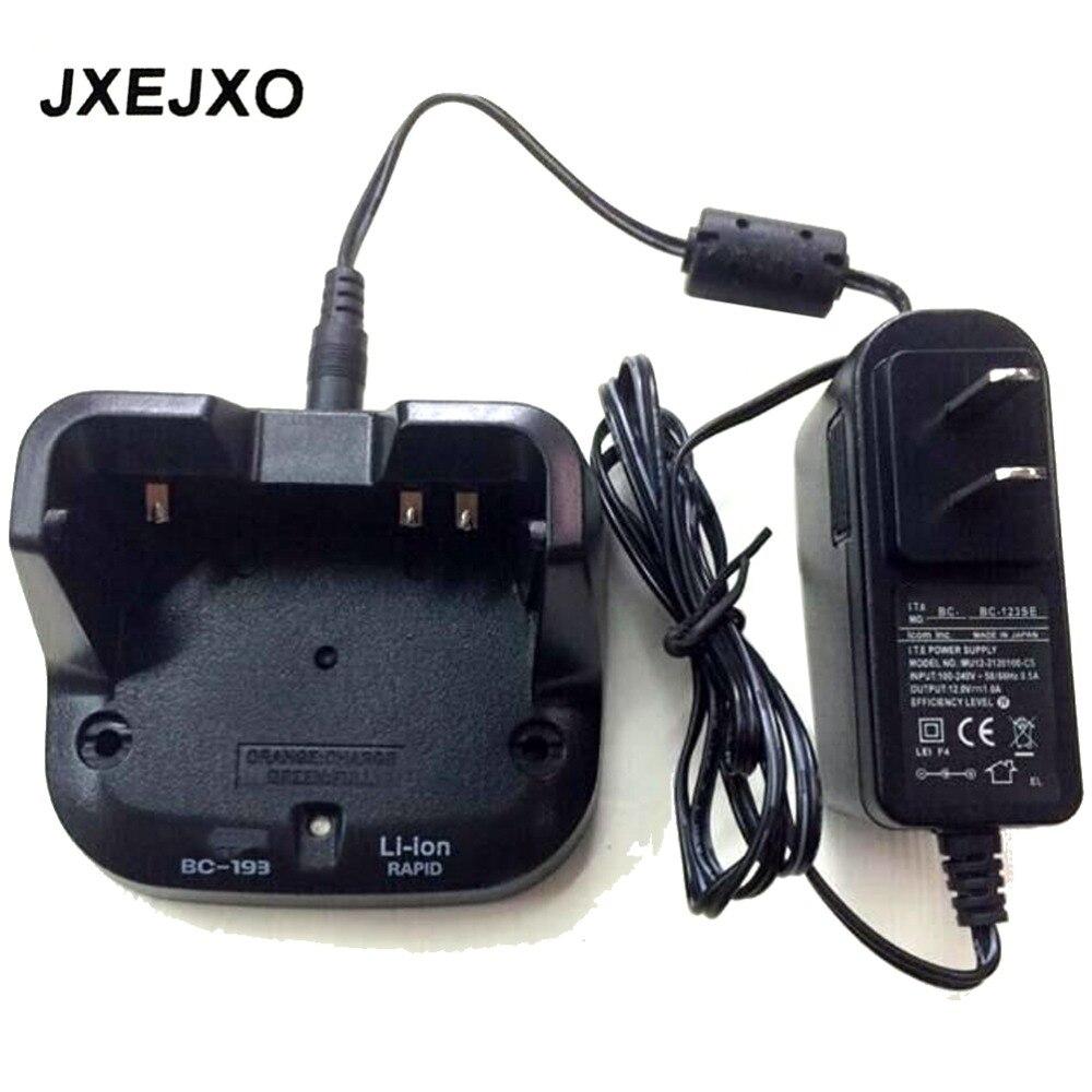 bilder für 110 V-240 V NEUE Radio zwei wege batterie ladegerät für BC-193 BC193 Für Li batterie für icom für ic-v80 ic v80e ic f27sr 2 way radio