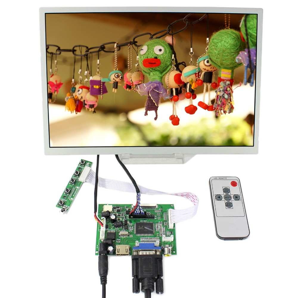HDMI+VGA+2AV LCD Controller Board With 12.1inch 1280x800 LQ121K1LG52 1280x800 LCD Screen vga lcd controller board 10 1b101ew05 1280x800 lcd screen